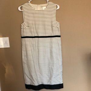 'S MaxMara white/black dress